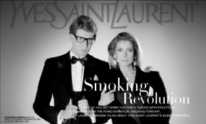 Yves Saint laurant yslrevolition - smoking - denevue - non si dice piacere